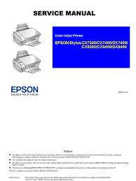 epson service manual secure digital image scanner