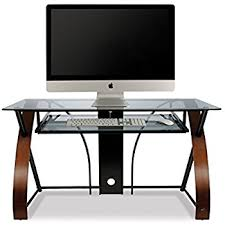 Computer Desks With Keyboard Tray Bell O Cd8855 Computer Desk With Keyboard Tray Black