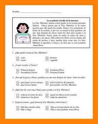 stories for comprehension 8 stories with comprehension questions cv for teaching