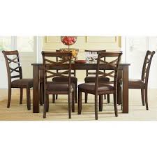 Standard Furniture Dining Room Sets Redondo 7 Piece Dining Room Set Cherry Standard Furniture