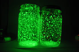 glow lights made with diy rechargeable fairy glow jars
