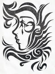 spider tribal designs pesquisa google stencils pinterest
