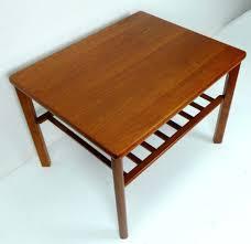 small teak coffee table side table teak side table end small danish teak side table teak