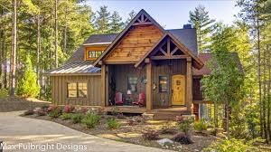 mountain homes floor plans small cabin home plan with open living floor plan