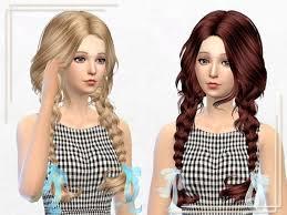 sims 4 kids hair sims 4 hairs sakura phan ela asked hair 23f retexture