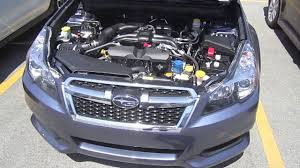 2013 subaru legacy 2 5i premium engine interior review youtube