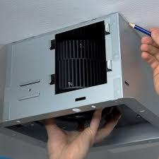 how to replace a bathroom ceiling fan a bathroom exhaust fan