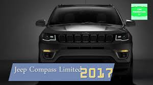 jeep compass panoramic sunroof 2017 jeep compass limited interior u0026 exterior youtube