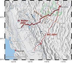 Idaho On Map Map Indicating The Location Of The Idaho Nevada California Inc