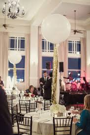 mini chandelier centerpieces extra large balloons with gold tassels make a darling and creative
