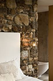 Best  Indoor Stone Wall Ideas On Pinterest Interior Stone - Home interior wall design 2