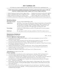 Professional And Technical Skills For Resume Application Support Resume Examples Resume For Your Job Application