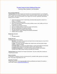 resume exles special education aide duties objectives in resume for teachers special education instructional