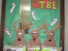 christmas door decorations ideas for the office