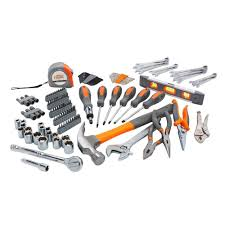 hdx homeowners tool set 76 pieces h76hos the home depot
