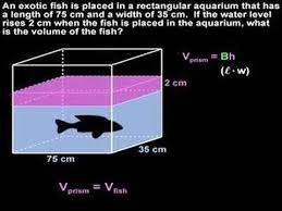 volume word problems mathhelp com geometry help youtube