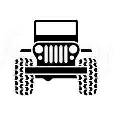 jeep cherokee decal cute car pattern car vinyl decal truck window glass wall van