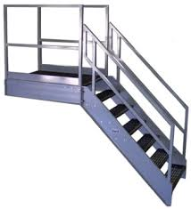 Handrail Requirements Osha Galvanized Stairs Metal Stairs Osha Prefab Stairways