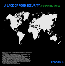 World Hunger Map by The Enough Movement