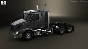 2006 volvo truck tractor 360 view of volvo vnx 300 tractor truck 2013 3d model hum3d store