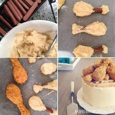 raspberri cupcakes u0027fried chicken u0027 cookie pop cake