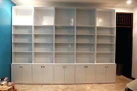 bookcase white sliding glass door bookcase altra white sliding