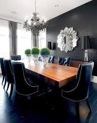 black dining room beautiful black dining rooms 4 40 beautiful modern dining room