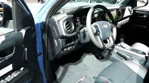 toyota tacoma interior 2017 new 2017 toyota tacoma truck interior tour 2017 la auto show