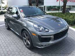 2017 porsche cayenne gts blue 2018 new porsche cayenne gts awd at porsche west broward serving