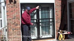 Install French Doors Exterior - screen doors for french doors istranka net