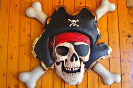 piratenzimmer wandgestaltung wanddeko selber machen für ein piratenzimmer so geht s