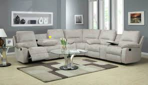 Klaussner Sectionals Klaussner Leather Sectional Giovani Fairwinds 6pc Power Reclining