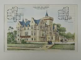 chateau novella luxury house plan small castle plan indoor
