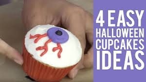 Halloween Decorations For Cakes by 4 Easy Halloween Cupcakes Ideas From Wilton Youtube