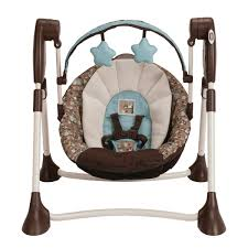 Graco Doll Swing High Chair Amazon Com Graco Swing By Me Portable 2 In 1 Swing Little Hoot