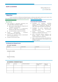 Best Resume Format For Engineers Pdf by Cv Format For Engineering Freshers Download