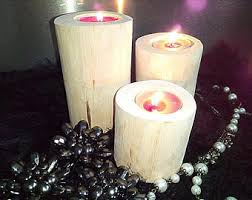Wedding Candle Holders Centerpieces by Rustic Wood Candle Holders Wooden Candle Holders Wedding