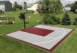 Backyard Basketball Hoops by 36 Best Ideas About Backyard Basketball Courts On Pinterest
