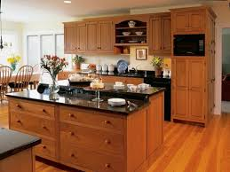 Cherry Wood Kitchen Cabinets With Black Granite Modern Cherry Kitchen Cabinets Black Granite Cherry Wood Kitchen