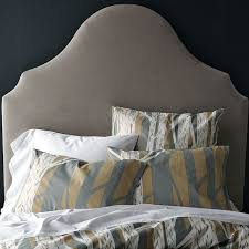 Velvet King Headboard West Elm Headboard Upholstered Headboard Befoer West Elm Morocco