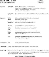Artist Resume Templates Tattoo Artist Resume Artist Resume Resume Format India Doc By