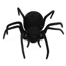 remote control 4ch rc black widow spider scary toy sale banggood