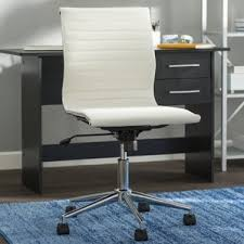 Fabric Covered Desk Chairs Faux Fur Desk Chair Wayfair