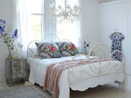 Shabby Chic Bedroom Chandelier Miami Long Crystal Chandelier Bedroom Shabby Chic Style With White