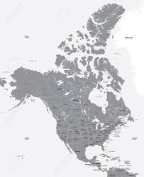 Map Of The World Black And White by Black And White Map Of The Usa And Canada Royalty Free Cliparts