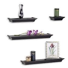 Decorative Shelves For Walls Decorative Wall Shelves Hooks U0026 Corner Shelves Bed Bath U0026 Beyond