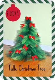 steps to making a christmas tree out of tulle christmas tree