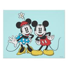 mickey mouse posters zazzle