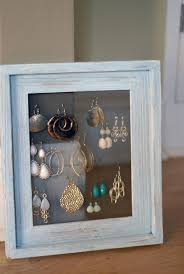 earring stud holder picture frame jewelry holder gallery of jewelry