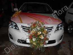 car decorations car decorations disnas wedding flora flowers for weddings in sri